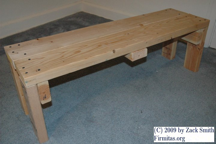 Permalink to plans for making a wooden workbench
