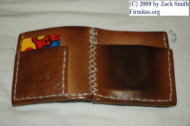 my handmade leather wallet design